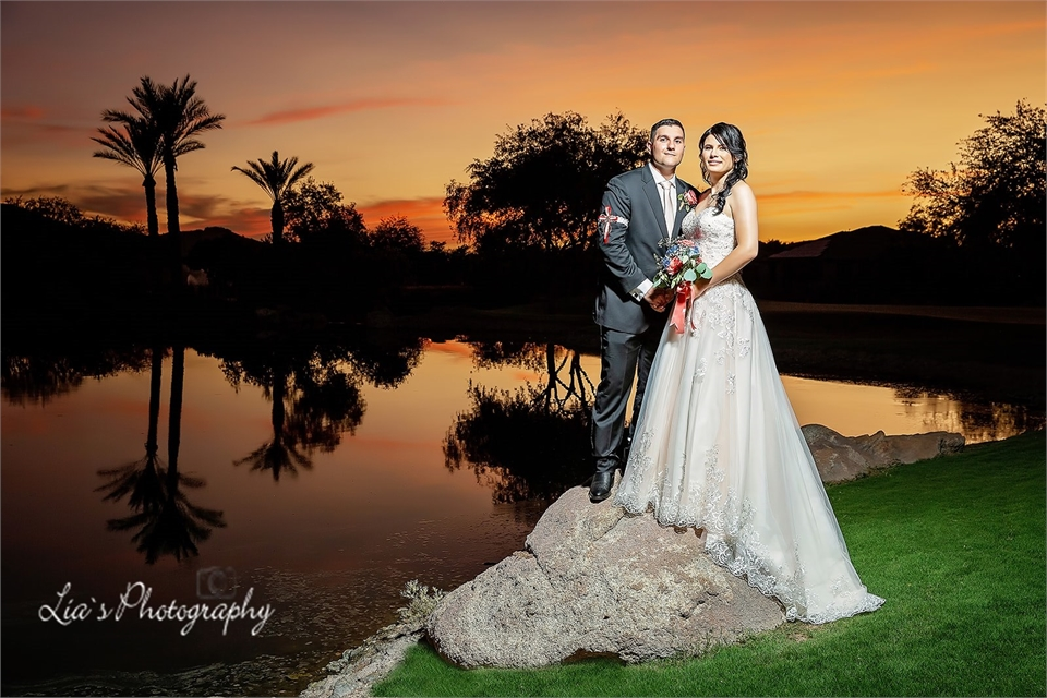 Metria & David`s Wedding Day